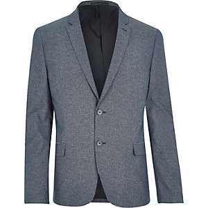 Navy Only & Sons cotton blazer