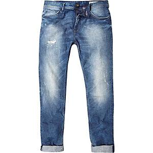 Vintage blue Only & Sons skinny jeans