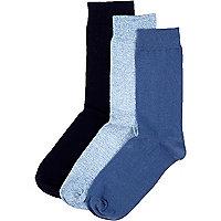 Navy socks pack