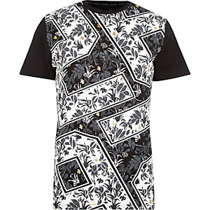 Black 26 Million all over print t-shirt