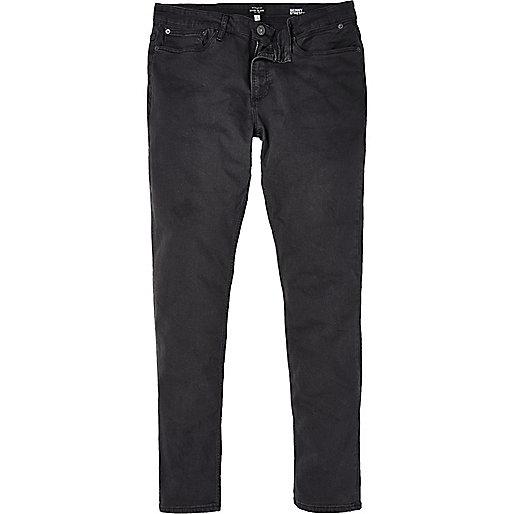 Jean skinny stretch Sid gris style grunge