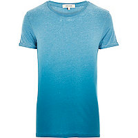 Turquoise faded t-shirt