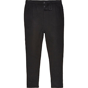 Black jersey trousers