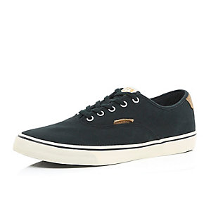 Black Jack & Jones lace up plimsolls