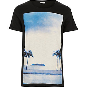 Black Jack & Jones Premium palm tree t-shirt