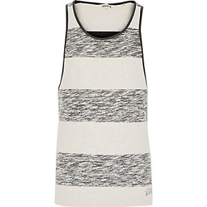 Black Jack & Jones Vintage washed stripe vest