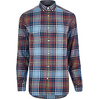 Red Jack & Jones Vintage check shirt