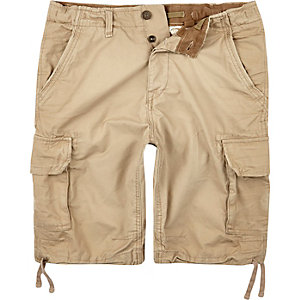 Grey Jack & Jones Vintage cargo shorts