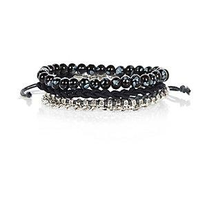 Navy 4 pack bracelets