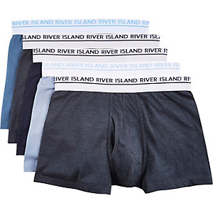 Blue keyhole trunks pack