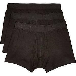 Black modal keyhole trunks pack