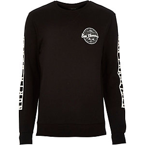 Black San Francisco print sweatshirt