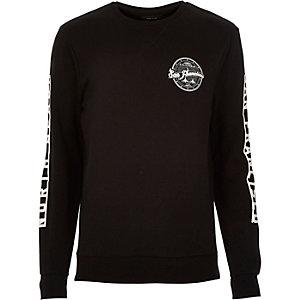 Black San Francisco print sweatshirt