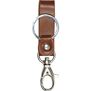 Brown key chain