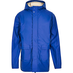 Blue Bellfield waterproof parka winter coat