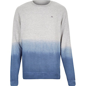 Navy Bellfield faded sweatshirt