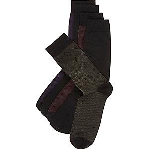 Purple socks pack