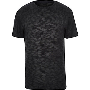 Black painted lines t-shirt