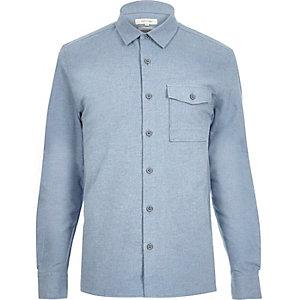 Blue flannel shirt