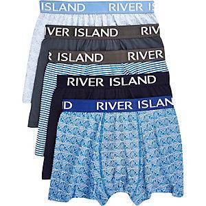 Blue RI boxer shorts pack