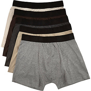Neutral boxer shorts pack