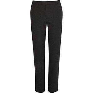 Grey pupstooth skinny fit pants