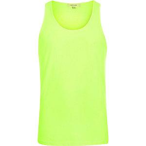 Fluro yellow vest