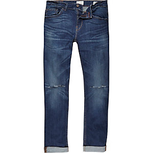 Blue Only & Sons ripped knee skinny jeans