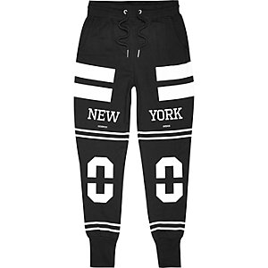 Black Systvm New York joggers