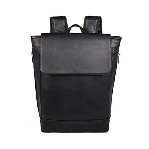 Black minimal backpack
