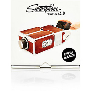 Brown Smartphone Projector 2.0