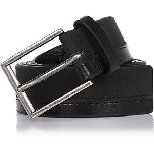 Black rubberised belt