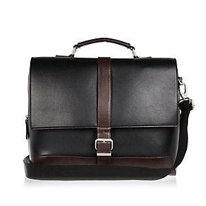 Black smart workbag