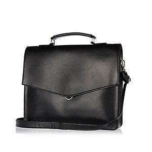 Black smart envelope workbag