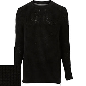 Black Only & Sons crew neck jumper