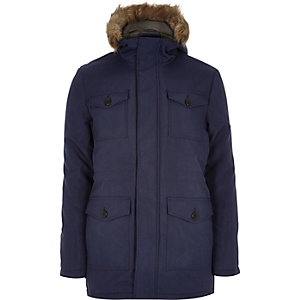 Blue Only & Sons padded winter coat