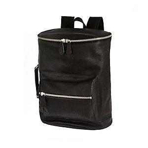 Black bucket rucksack
