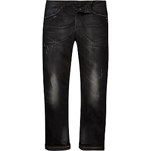 Black Only & Sons distressed skinny jeans
