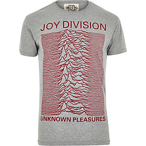 Grey Worn By Joy Division t-shirt