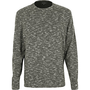 Grey marl side block top