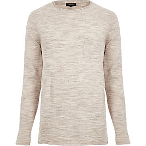 Stone pocket front jumper
