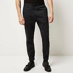 Dark grey smart utility jogger pants