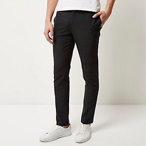 Dark grey skinny pants