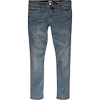 Mid blue wash Danny super skinny jeans