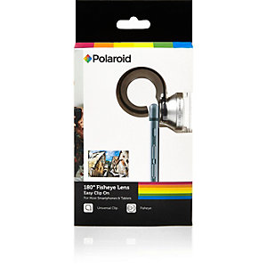 Grey Polaroid smartphone fisheye lens