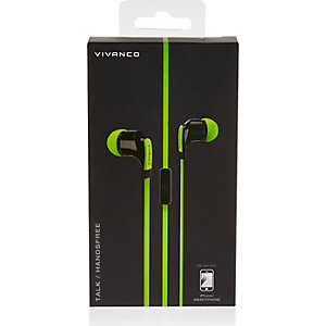 Green Play ear bud headphones