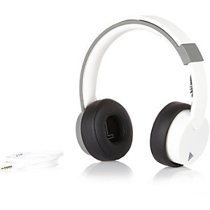 White Play headphones