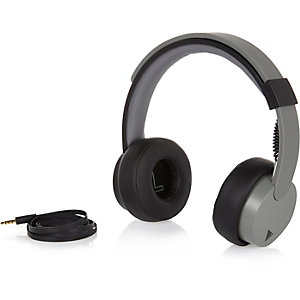 Grey Play headphones