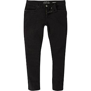 Black cropped Danny super skinny jeans