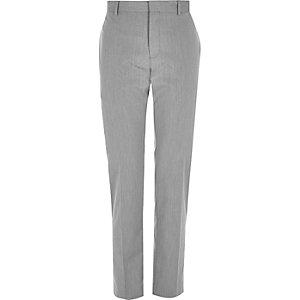 Pantalon slim gris habillé